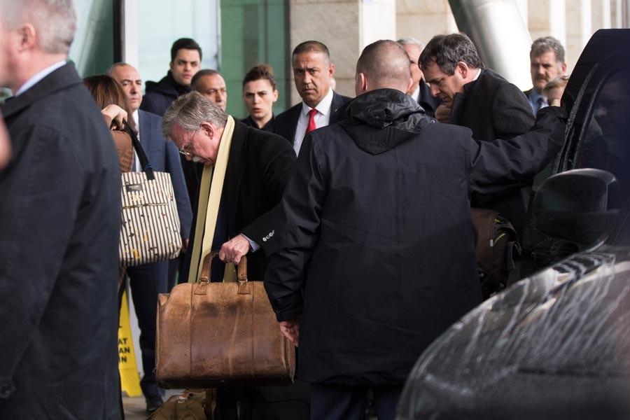 John Bolton Türkiye'den ayrıldı