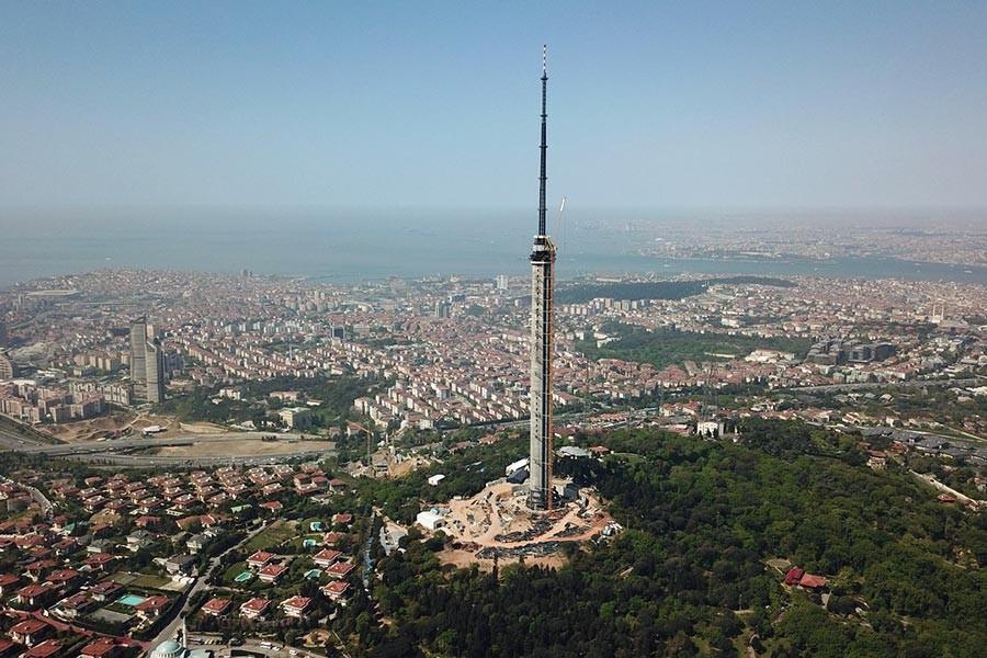 Küçük Çamlıca TV ve Radyo Kulesi için 301 milyon lira harcandı!