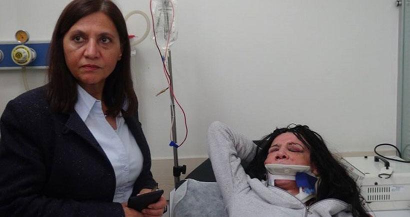 Akdeniz Belediyesi Eş Başkanı saldırıya uğrayan trans kadını ziyaret etti