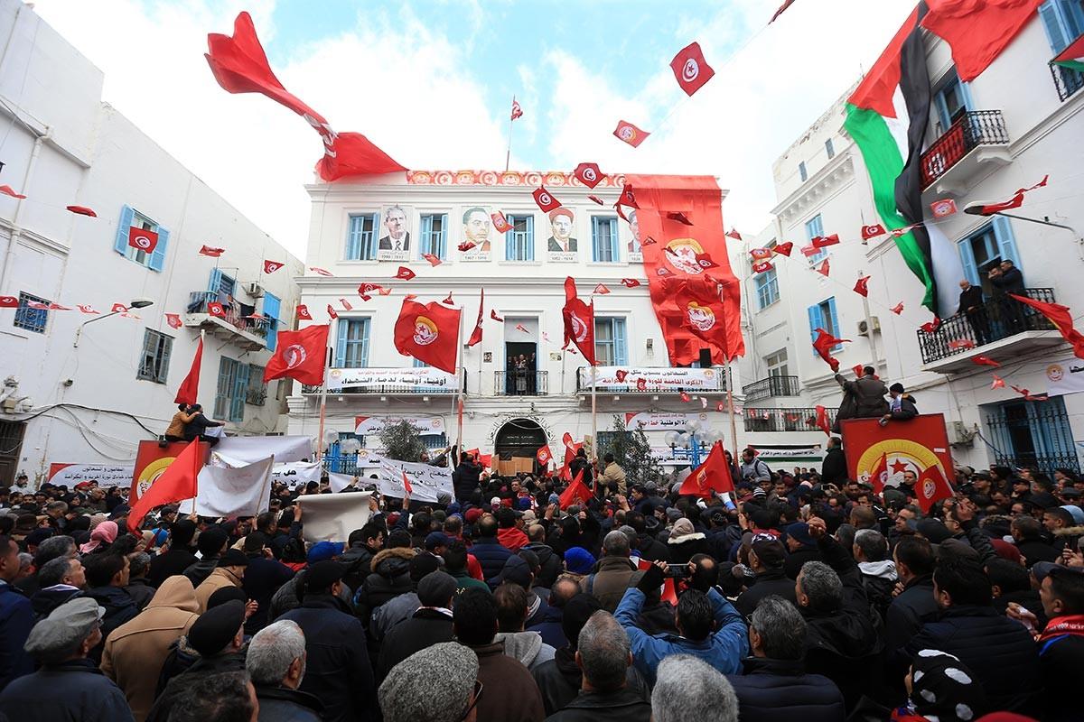 Tunus'ta işçiler IMF anlaşmasına karşı ikinci kez greve çıkacak