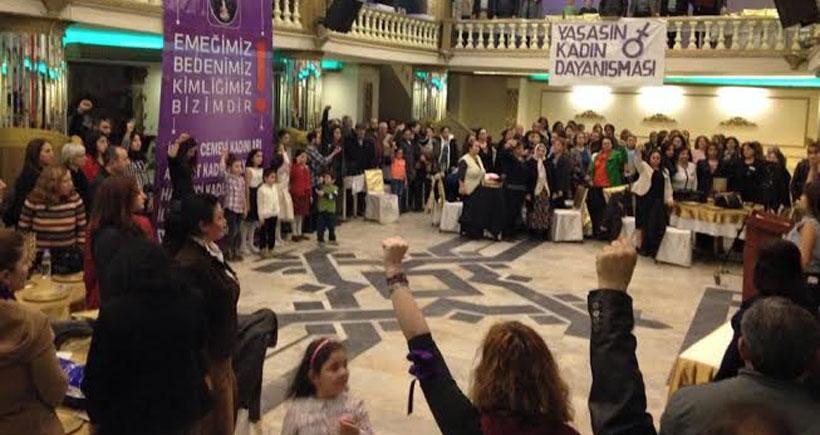 İkitelli'de  kadınlar  8 Mart'a  hazırlanıyor