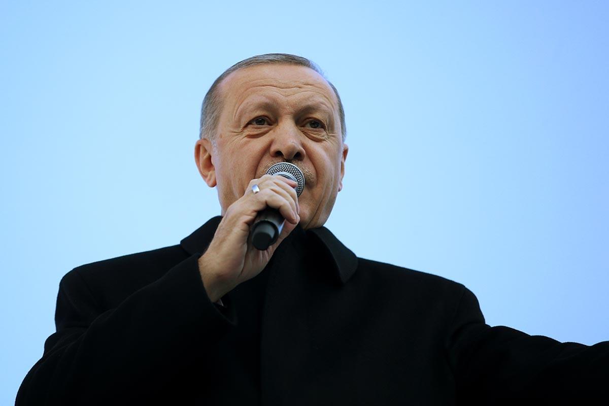 Erdoğan, Cumhur İttifakının Ordu adaylarını tanıttı