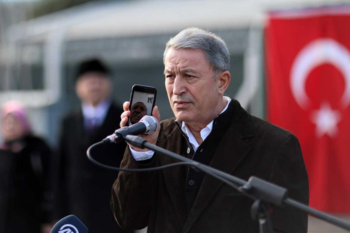 Milli Savunma Bakanı Hulusi Akar: Harekata hazırız, bu işin şakası yok
