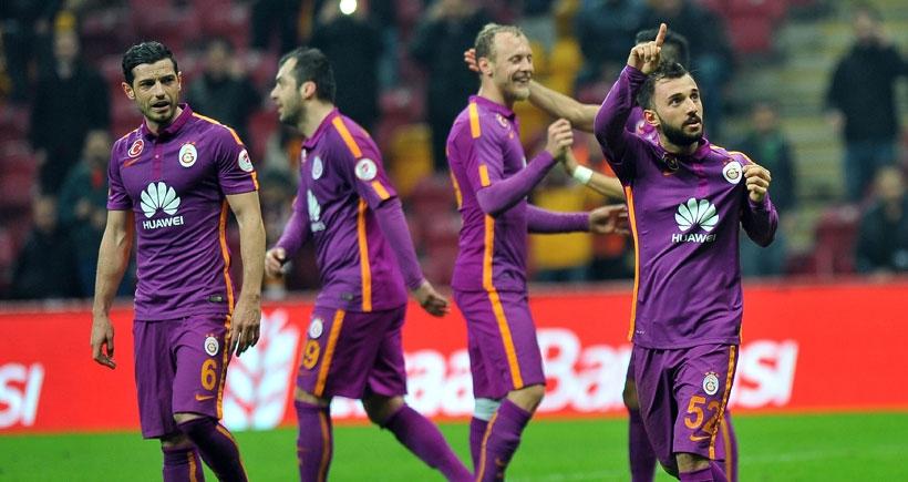 Galatasaray, Manisaspor'u rahat geçti