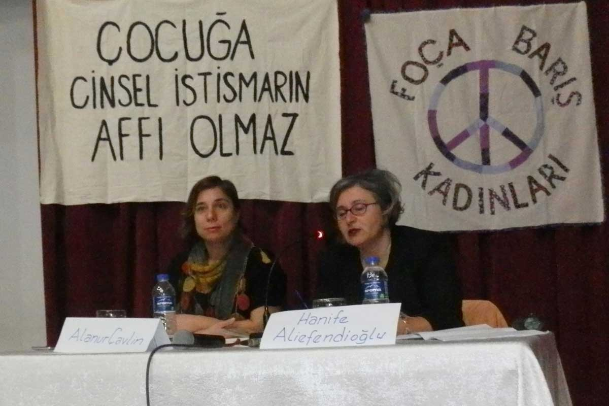 Foça'da ensest konuşuldu: Çocuğa cinsel istismarın affı olmaz