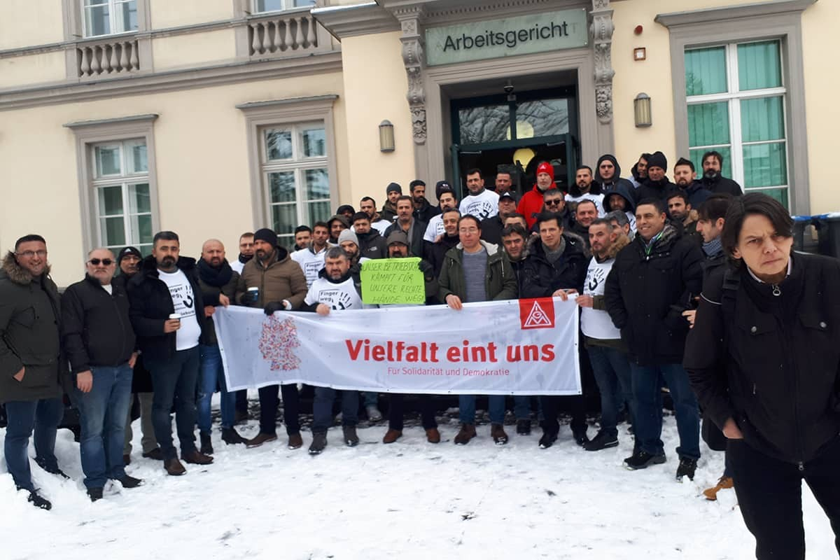 Almanya Borbet'te işyeri temsilciği çalışmaya devam edecek
