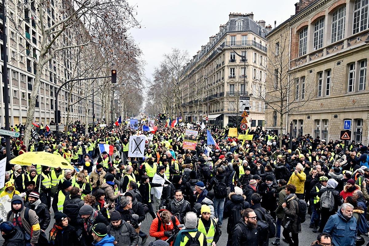 Öfke dinmedi; Sarı Yelekliler yine sokaklarda