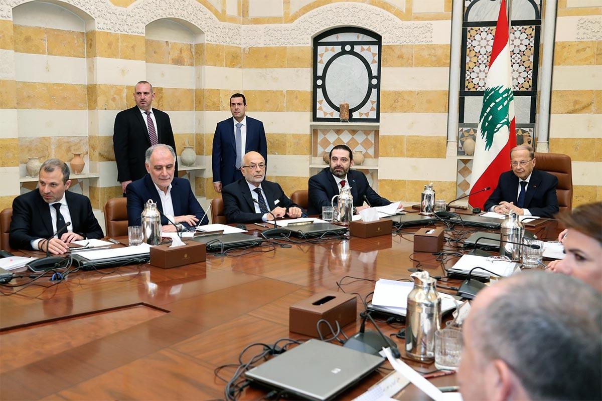 Lübnan'da yeni hükümet ilk toplantısını yaptı