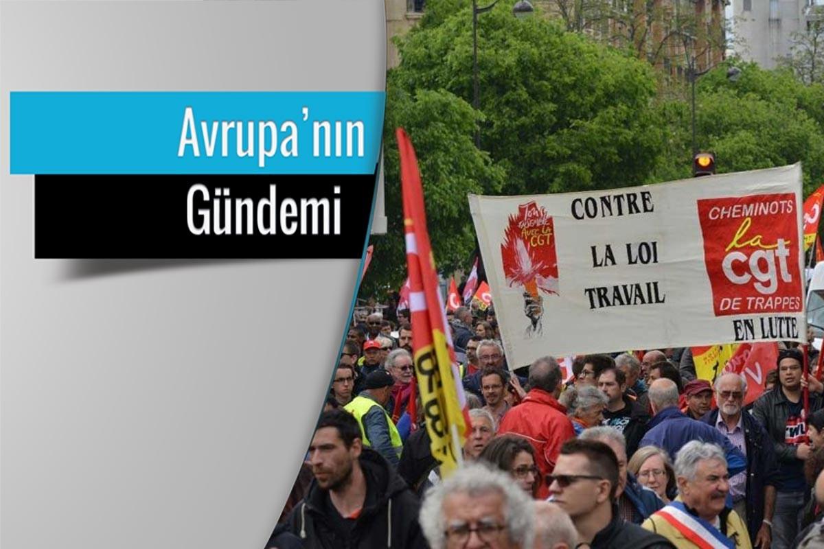 Fransa'da genel grev: Masayı ancak hep  birlikte devirebiliriz
