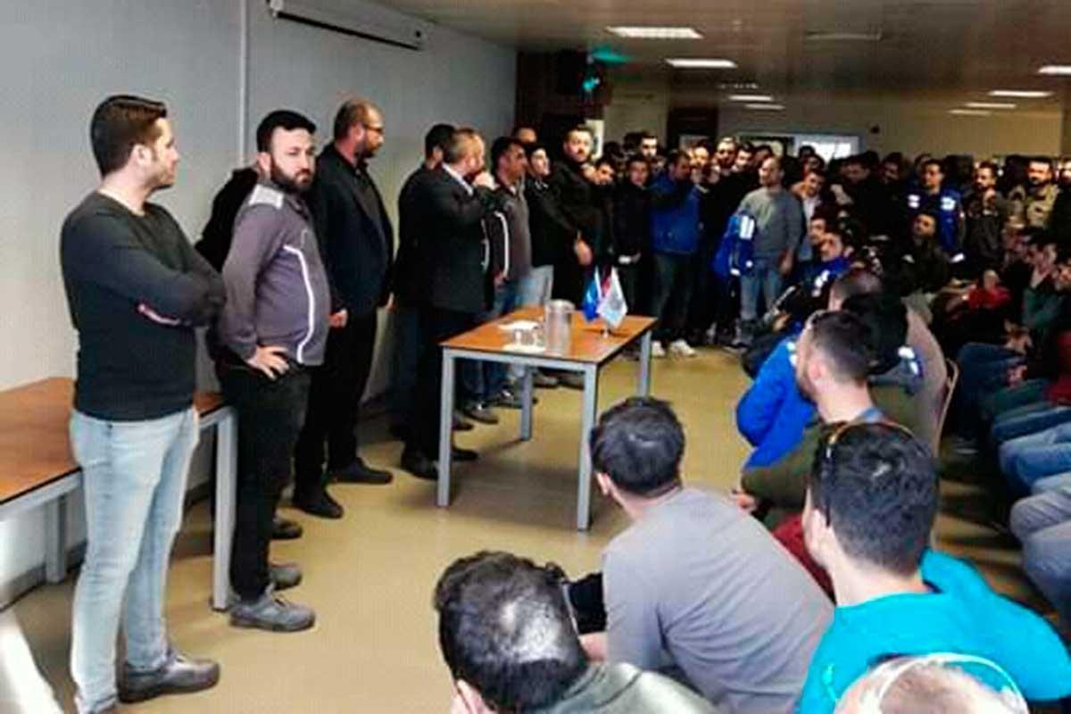 TPI işçileri çalışma koşullarını değiştirmeye çalışıyor