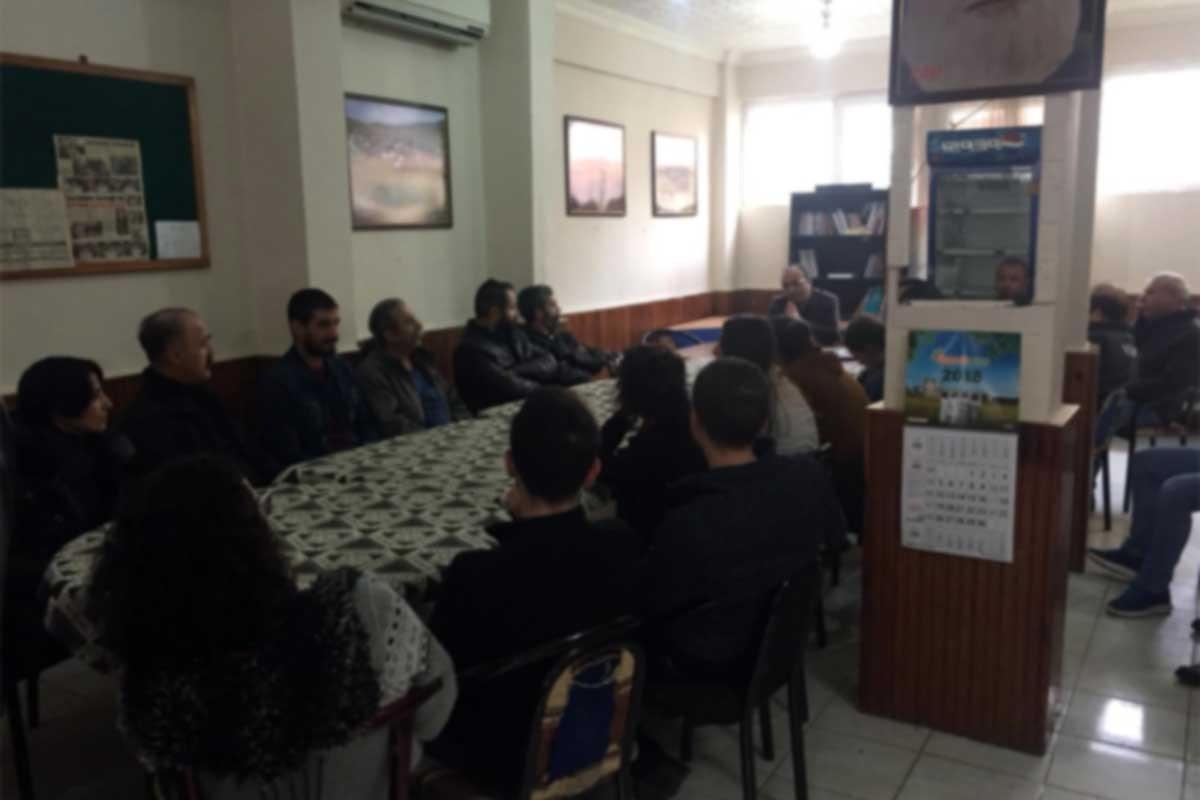 İşçiler Derince'de kısa çalışma ödeneğini tartıştı