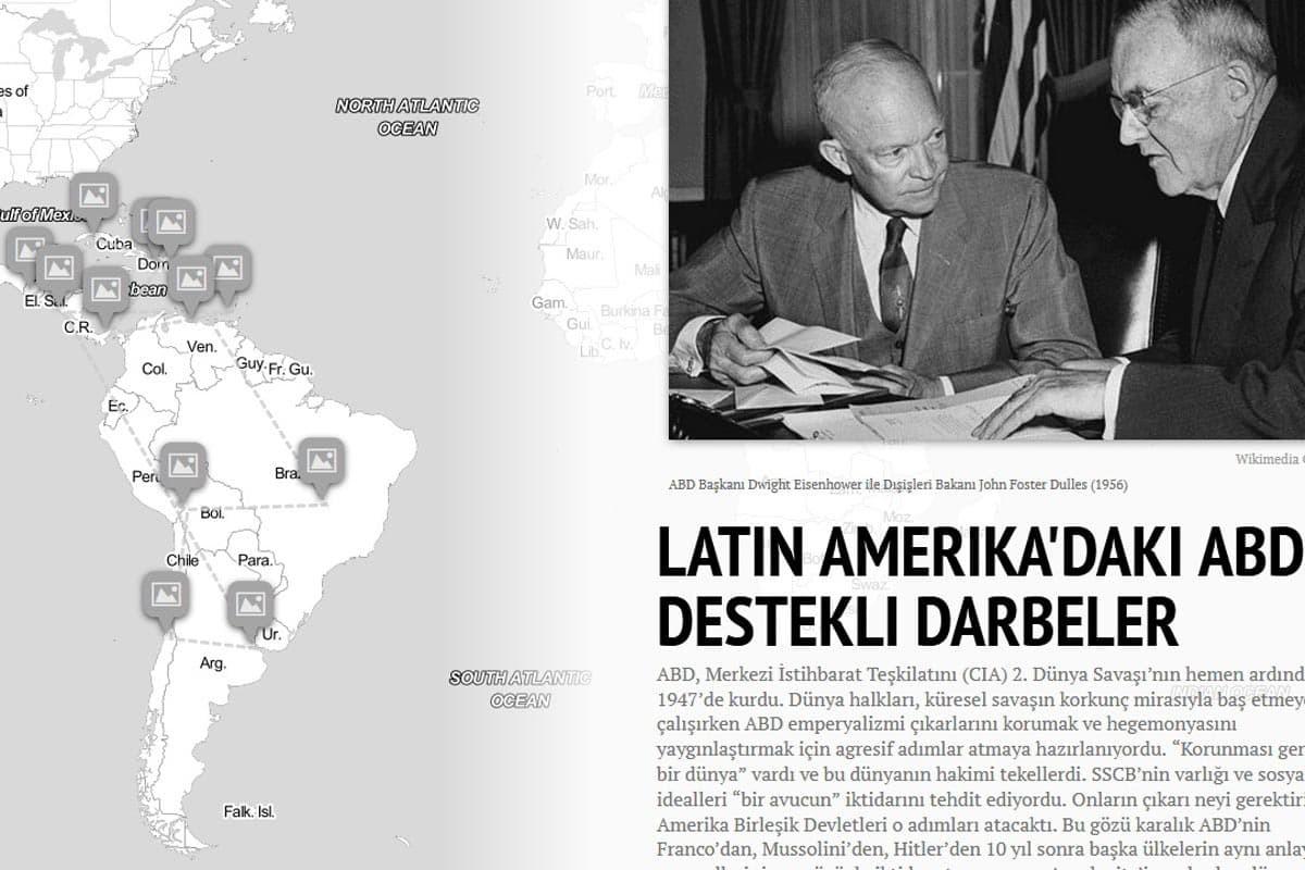Latin Amerika'daki ABD destekli darbe ve işgaller