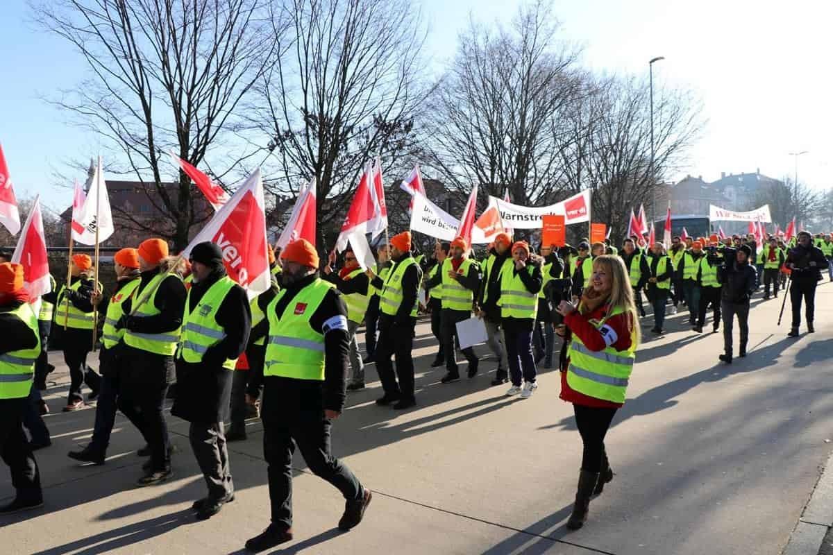 Almanya'da grev