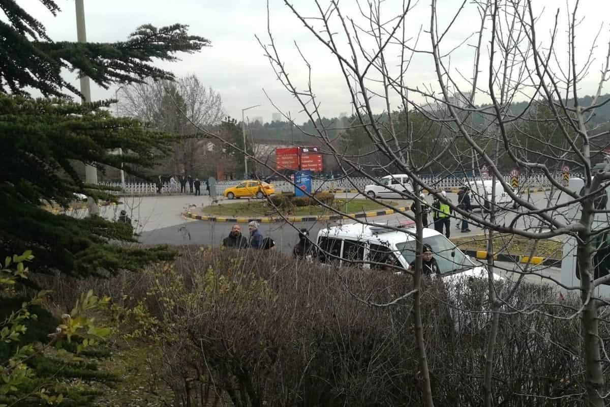 Erdoğan'dan helikopter, atlı polis ve yüzlerce çevikle ODTÜ ziyareti