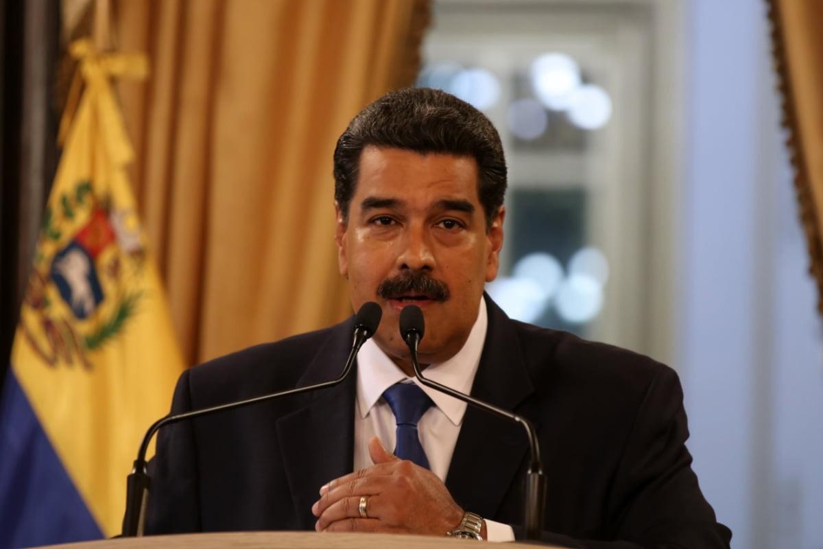 Maduro: ABD gözlerini Venezuela halkının zenginliklerine dikmiş
