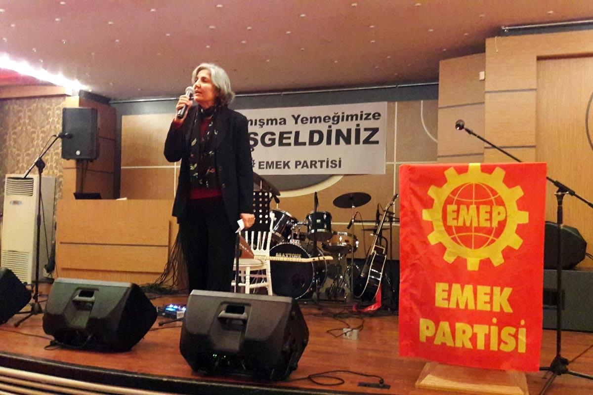 EMEP: Krize, eşitsizliğe ve şiddete karşı tek gücümüz birliğimiz