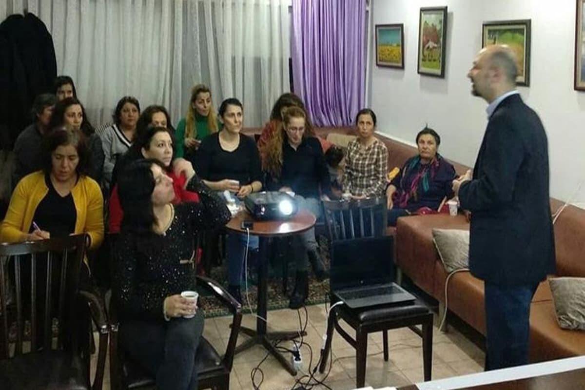 Tuzluçayır'da işçi kadınlar haklarını konuştu