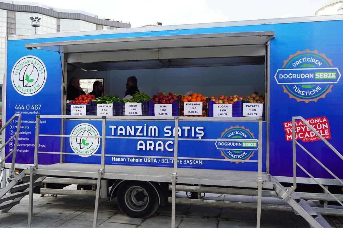 İstanbul ve Ankara'daki tanzim satış noktaları nerede?