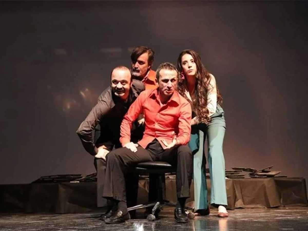 Mahzuni Şerif oyunu Zonguldak turnesinde