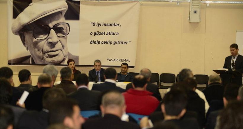 Amedspor kongresi Yaşar Kemal'e adandı