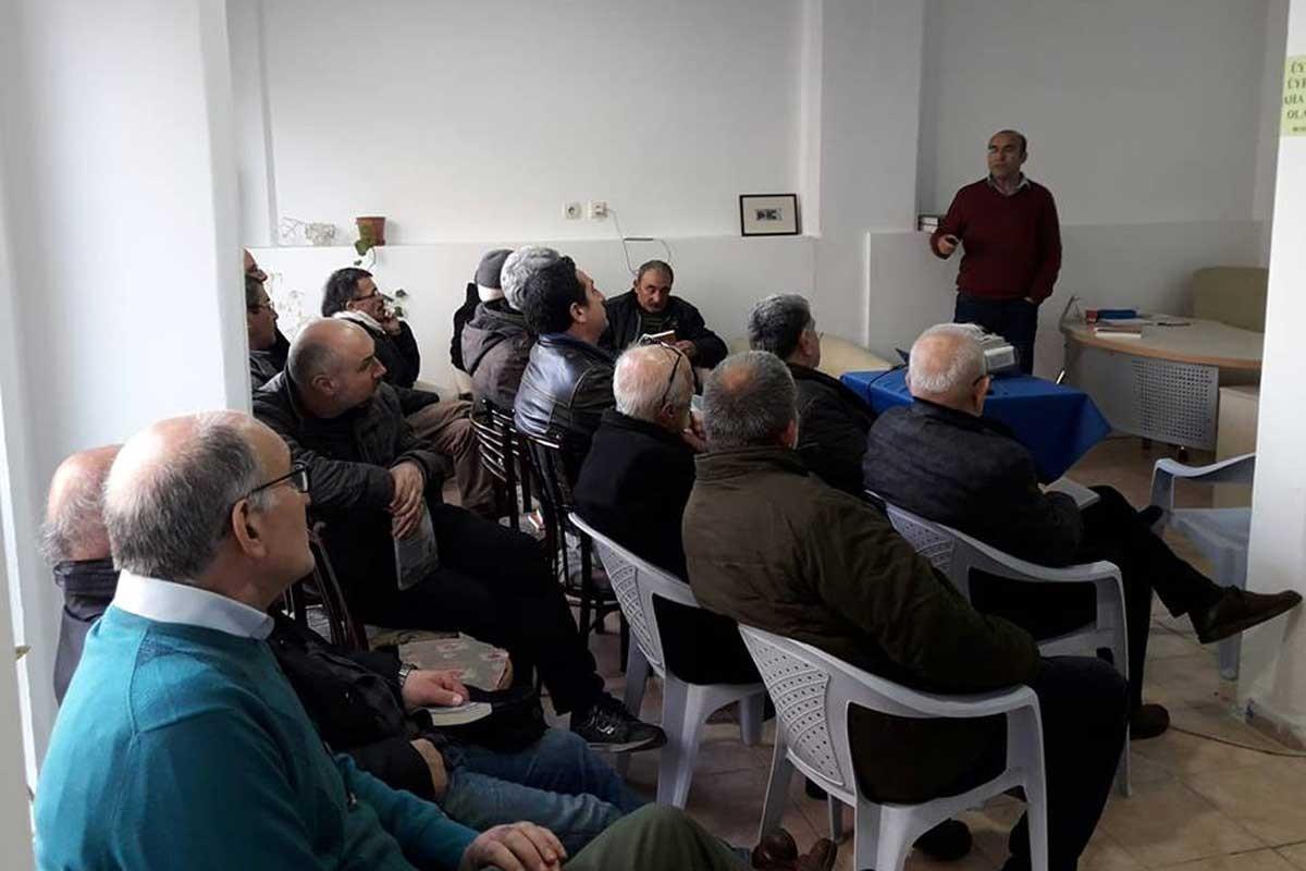 Özer Akdemir, Ege'nin çevre mücadelesi deneyimlerini ORÇEV'e aktardı