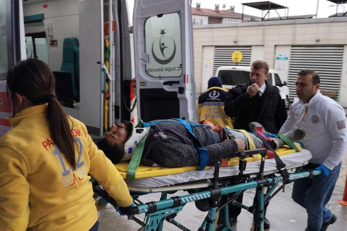 Bursa'da fabrikada foseptiğe düşen işçi ağır yaralandı