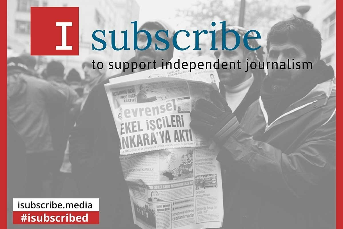 'I Subscribe' campaign continues with Evrensel and BirGün | Evrensel Daily - Evrensel.net