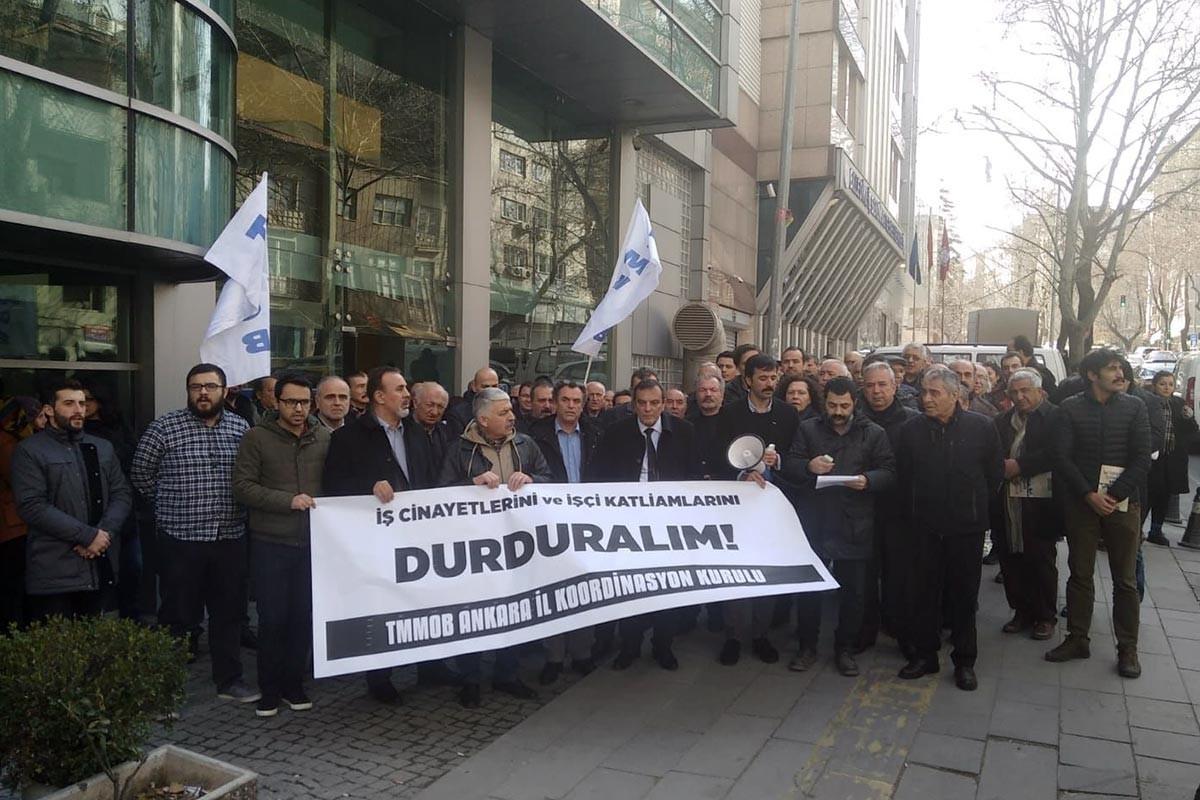 AKP iktidarı boyunca 22 bini aşkın emekçi iş cinayetine kurban gitti