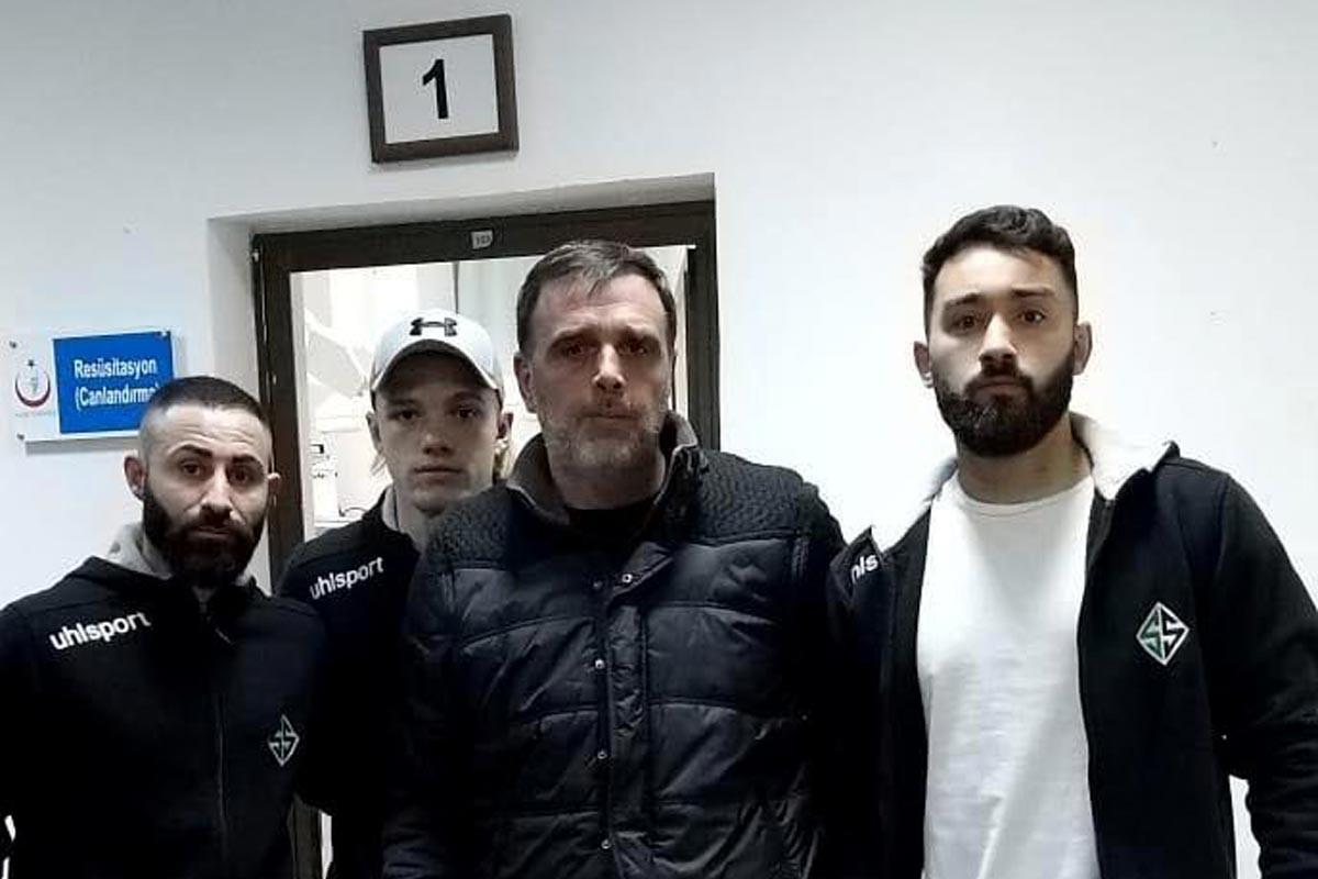 Sakaryasporlu futbolcular suç duyurusunda bulundu