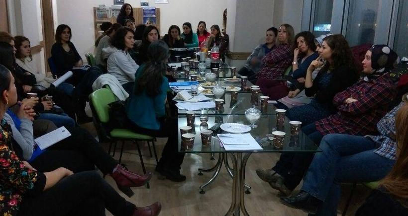 KESK'li kadınlardan örgütlenme kampanyası