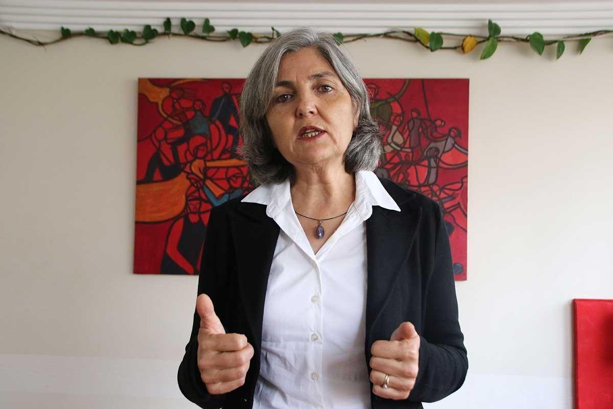 EMEP Başkanı Selma Gürkan: Emperyalistlerle pazarlık değil, halklarla diyalog