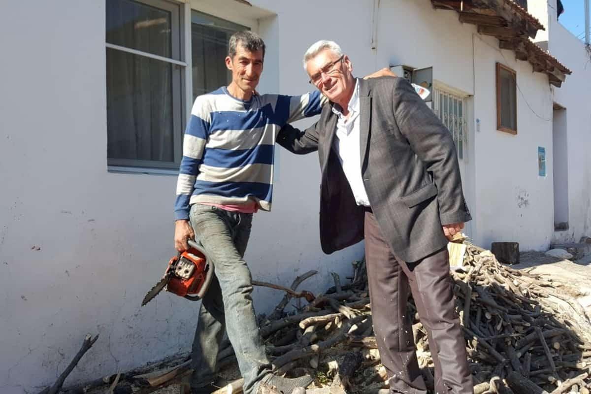 Balıkesir Bağımsız Adayı Şuayyip Çetin, üretici köylü ile buluştu
