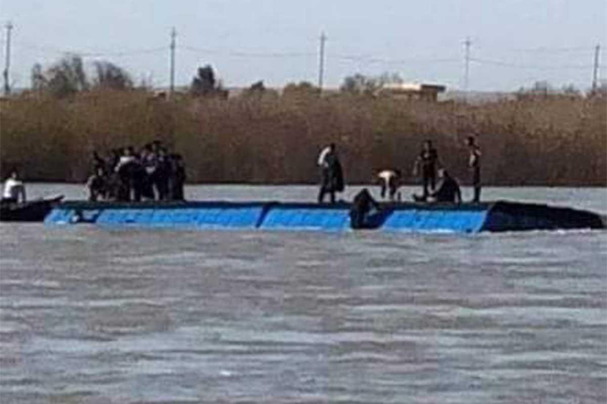Musul'da Dicle nehrinde feribot battı, ölü sayısı 100'e yükseldi