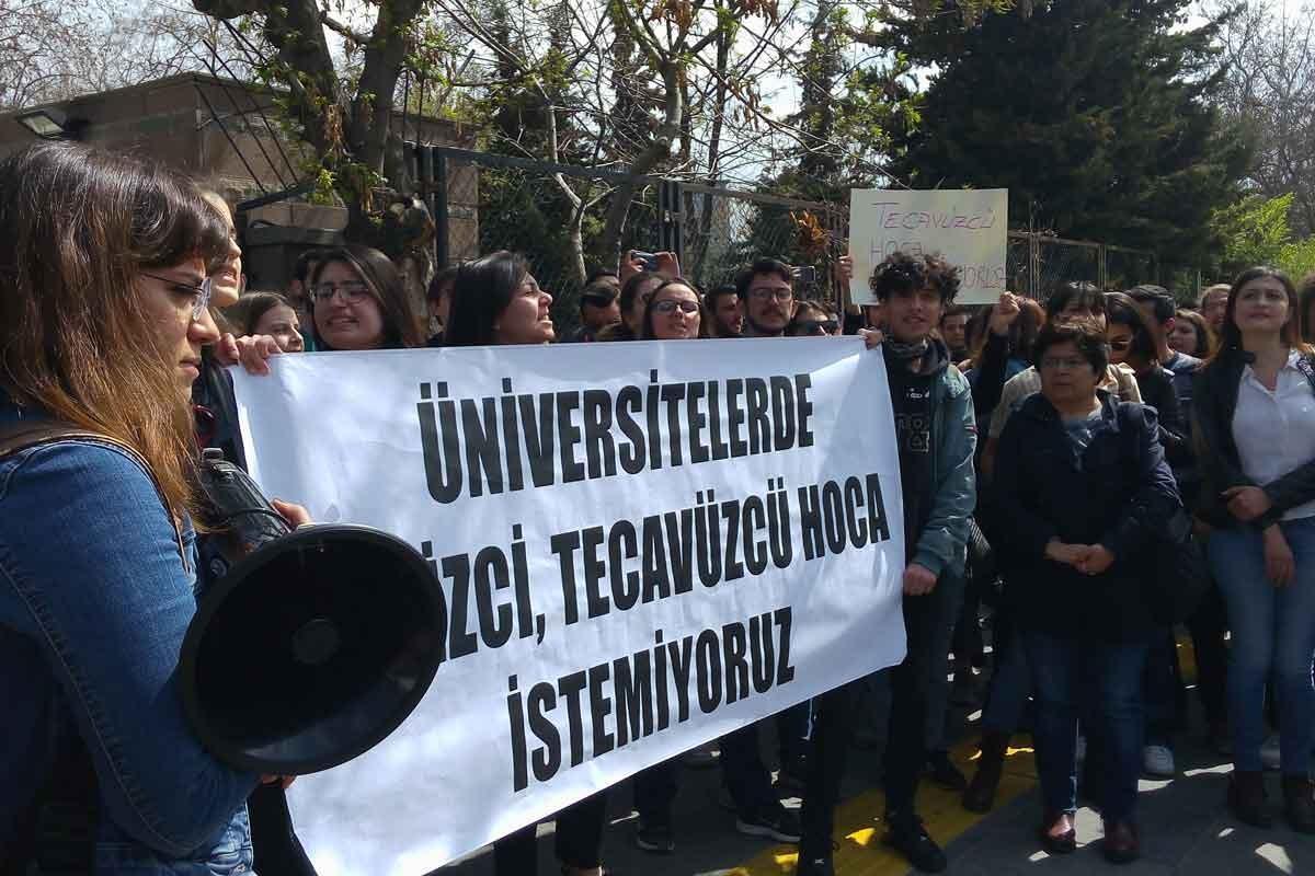 Ankara Üniversitesi öğrencileri: Cinsel saldırı faili profesör H. B. tutuklanmalı