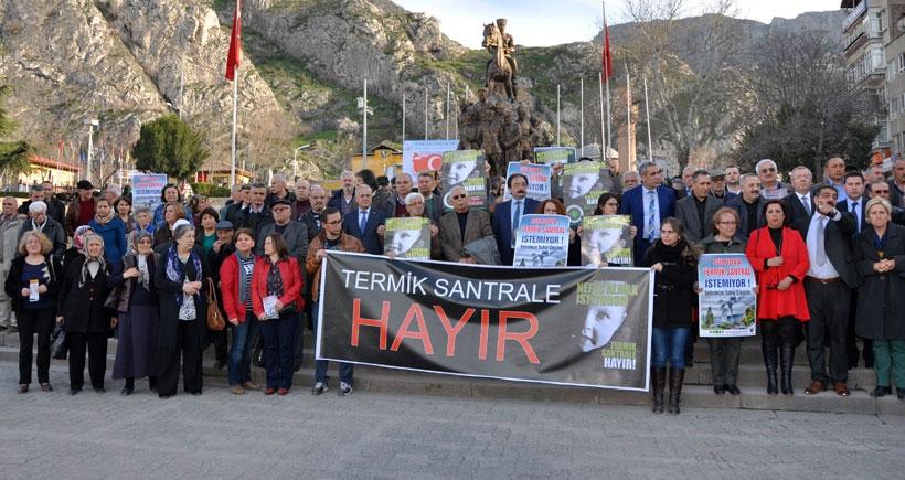 'Amasya'yı katil  şirkete bırakmayacağız'