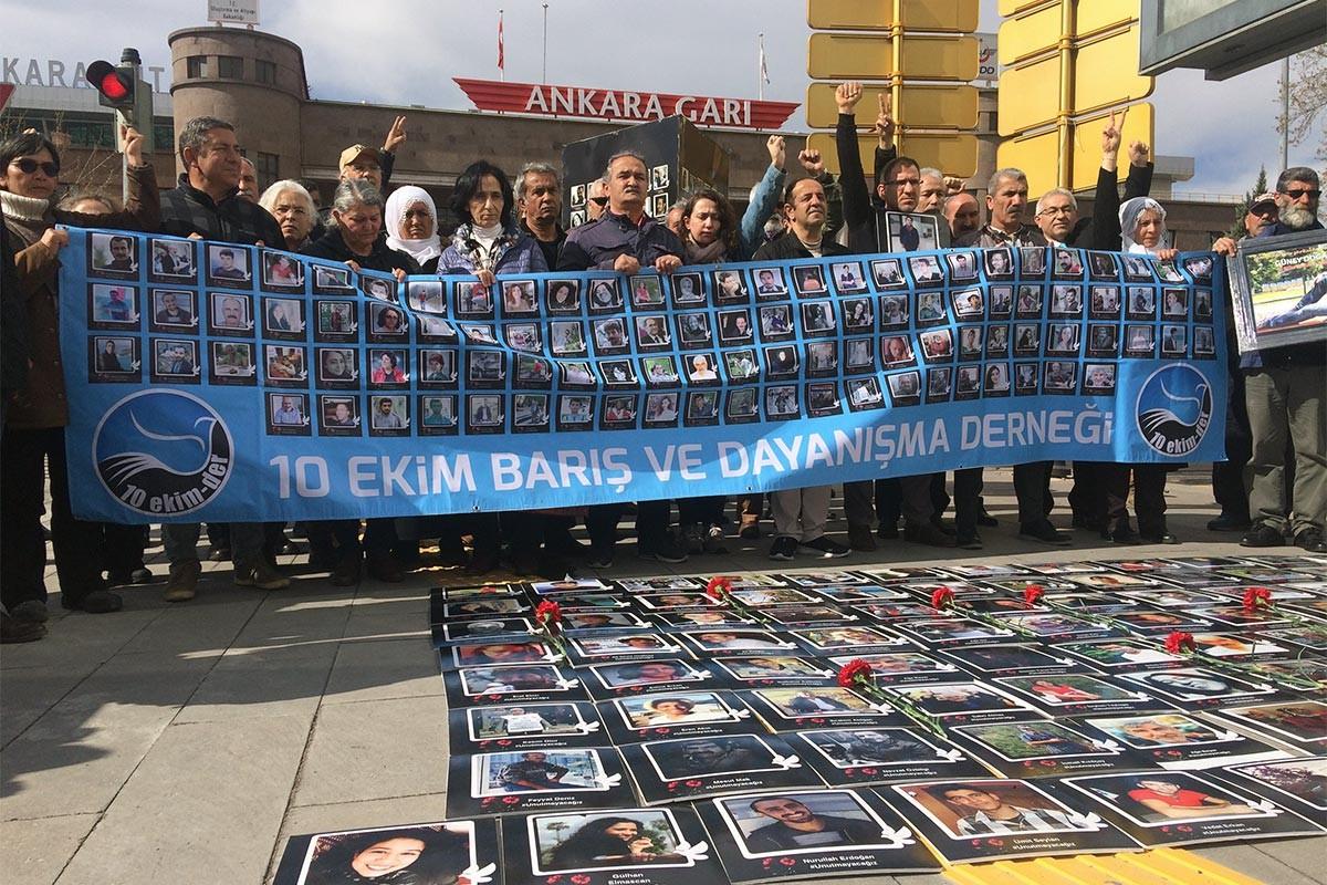 10 Ekim Katliamı anması: Yeni yönetim anıtlaştırma kararını uygulamalı