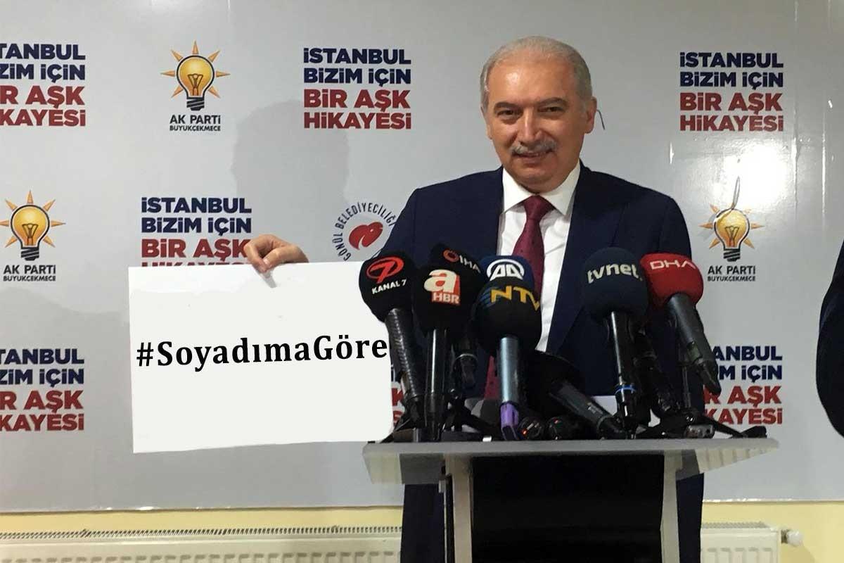 AKP'nin Büyükçekmece adayı Mevlüt Uysal'ın 'soyadı' gafı gündem oldu