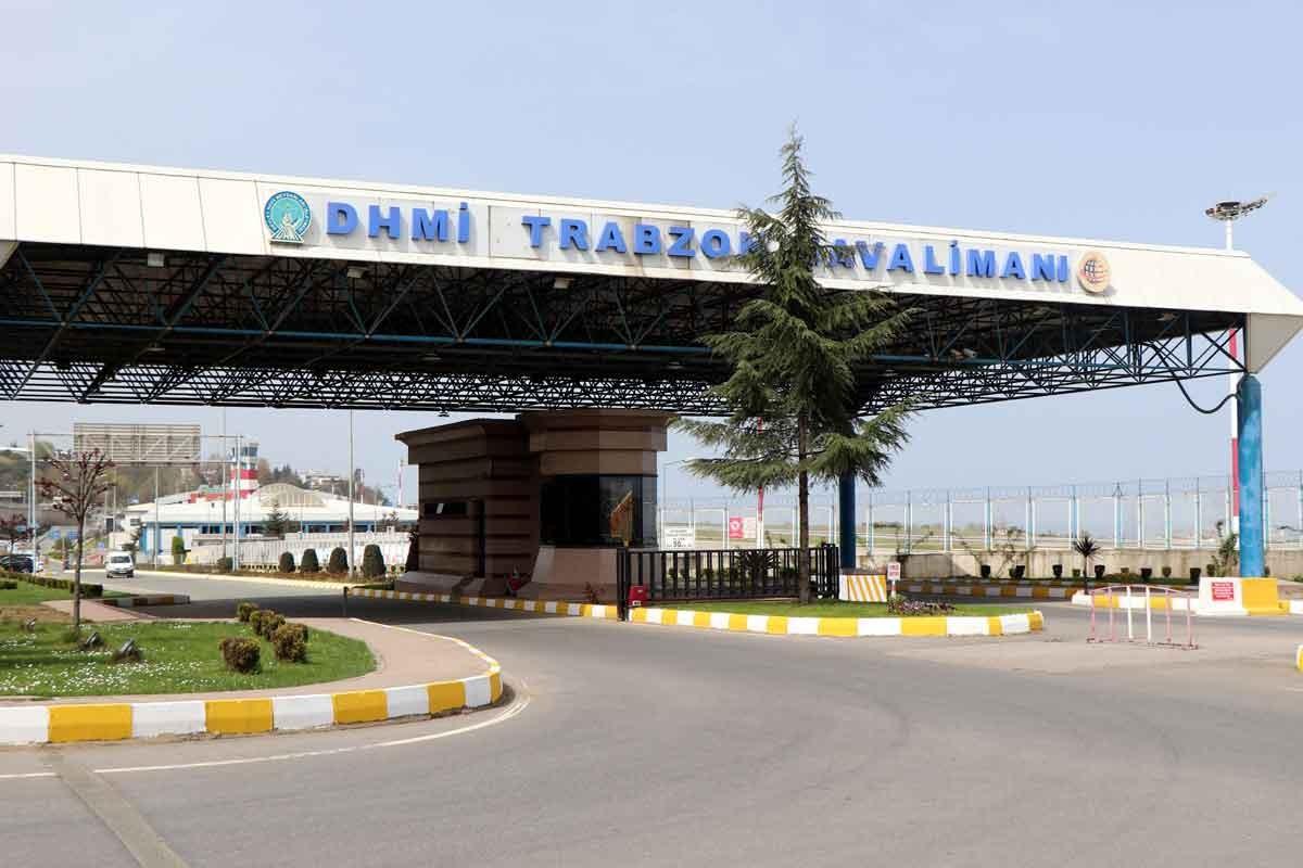 Pisti onarıma alınan Trabzon Havalimanı uçuşa kapatıldı