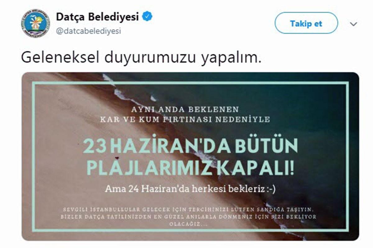 Belediyelerden İstanbullu seçmene esprili 23 Haziran mesajı