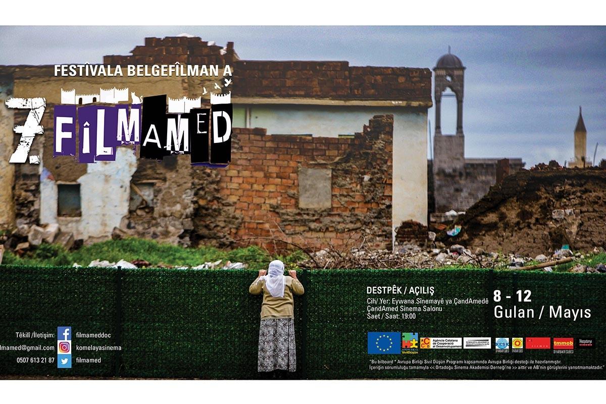 FilmAmed Belgesel Film Festivali başlıyor