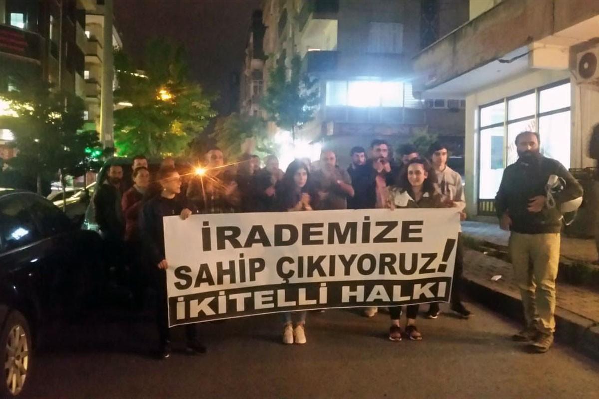 YSK'nin kararına karşı halk eylemleri üçüncü gününde