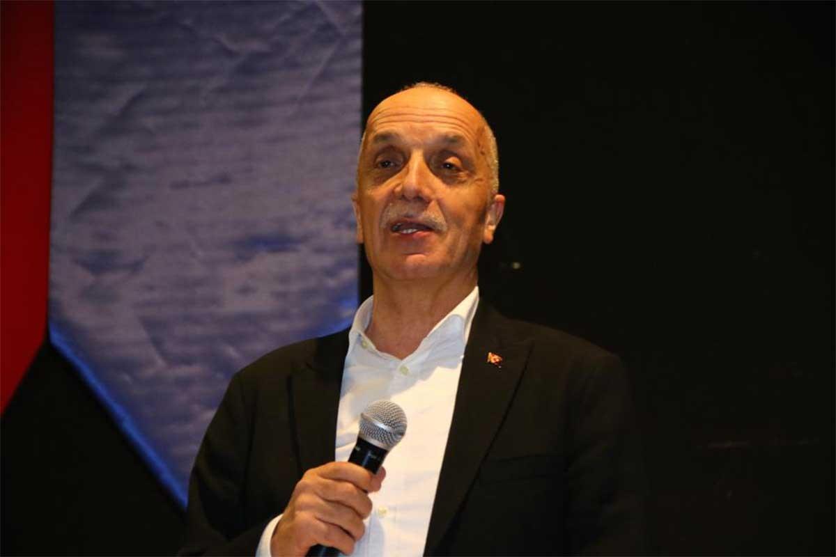 Türk-İş Genel Başkanı Ergün Atalay: Kıdem tazminatı kırmızı çizgimiz