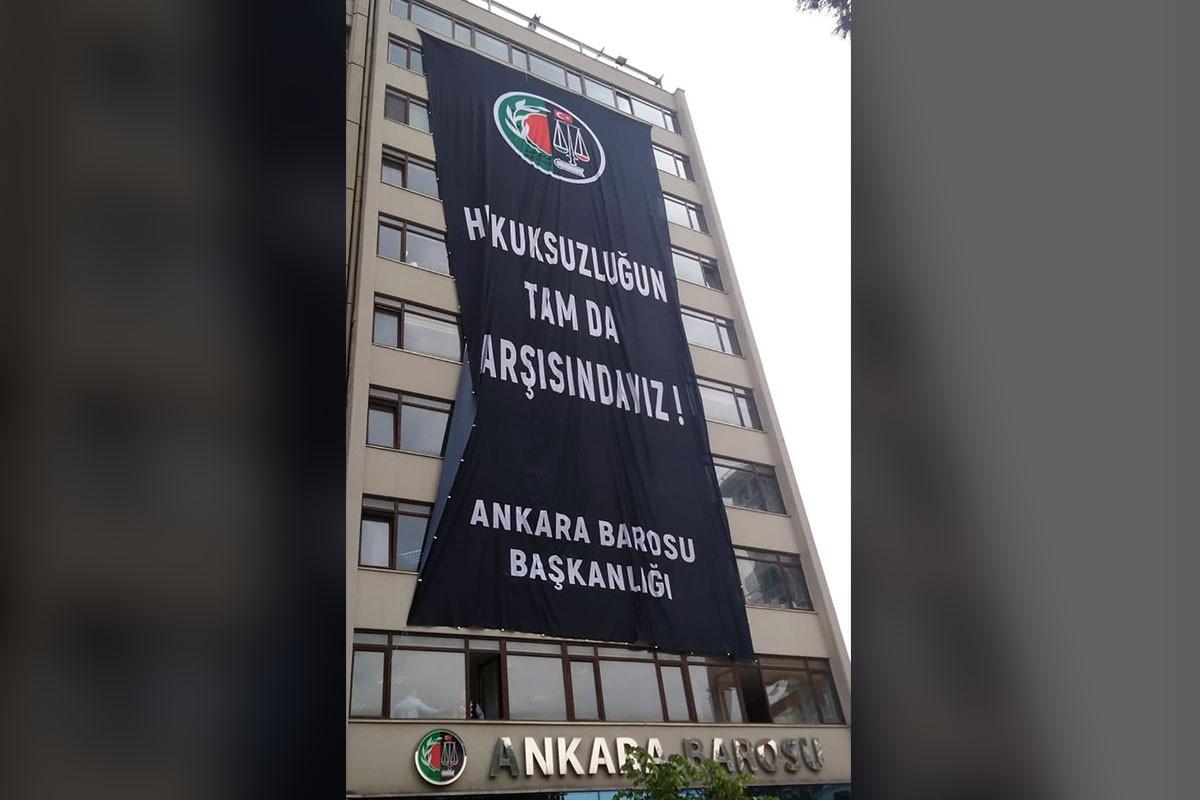 Ankara Barosundan YSK'ye gönderme: Hukuksuzluğun tam da karşısındayız