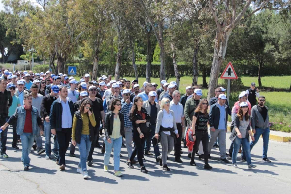 TÜPRAŞ'ın kadın işçileri gelecekleri için direniyor