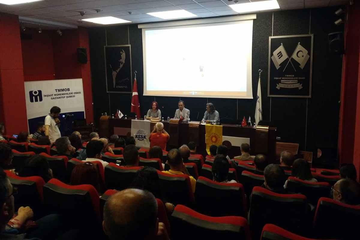 Eğitim Sen Gaziantep Şubesinden 'Eğitimin Sorunları' başlıklı panel