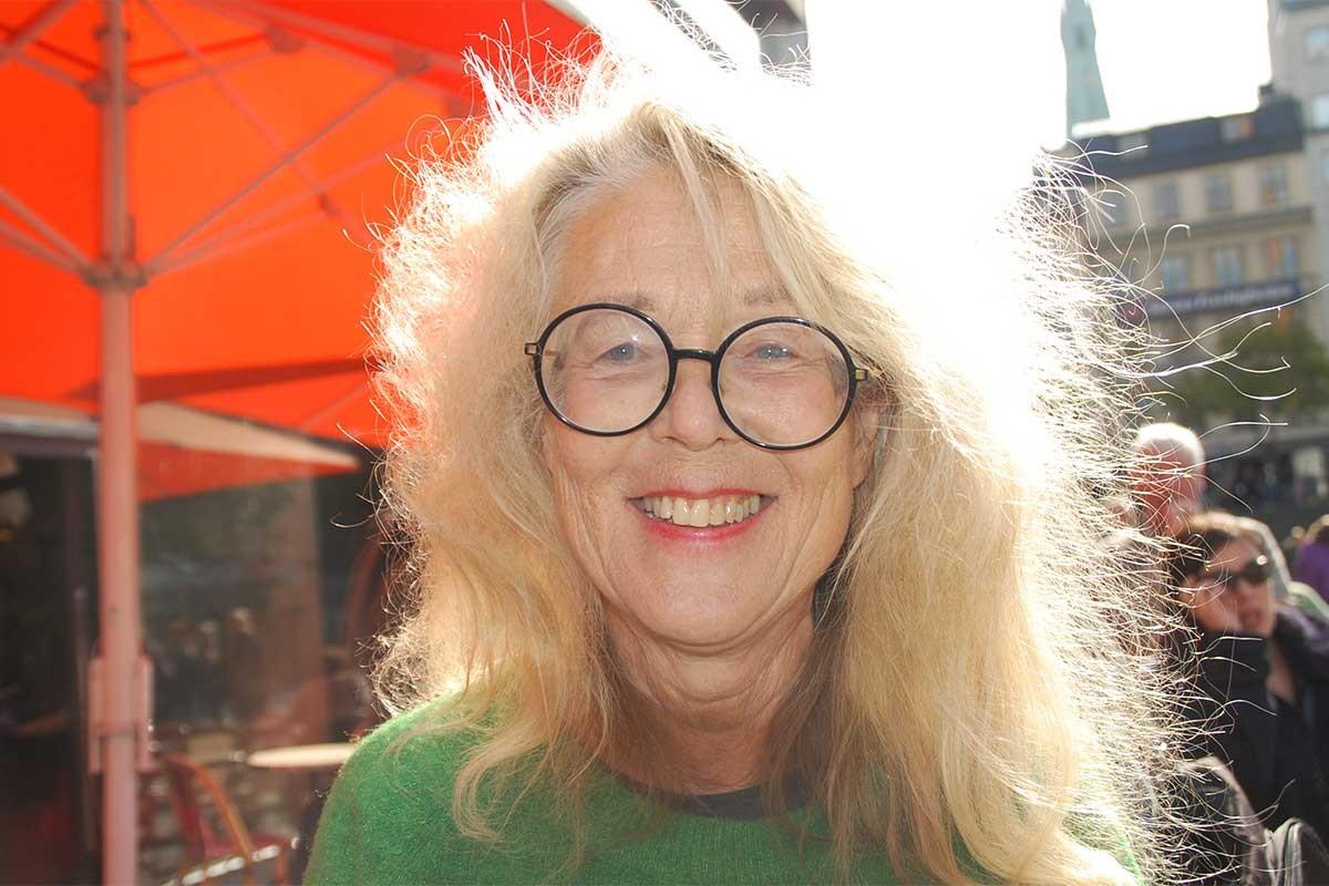 İsveç Yazarlar Birliği Başkanı Grethe Rottböll
