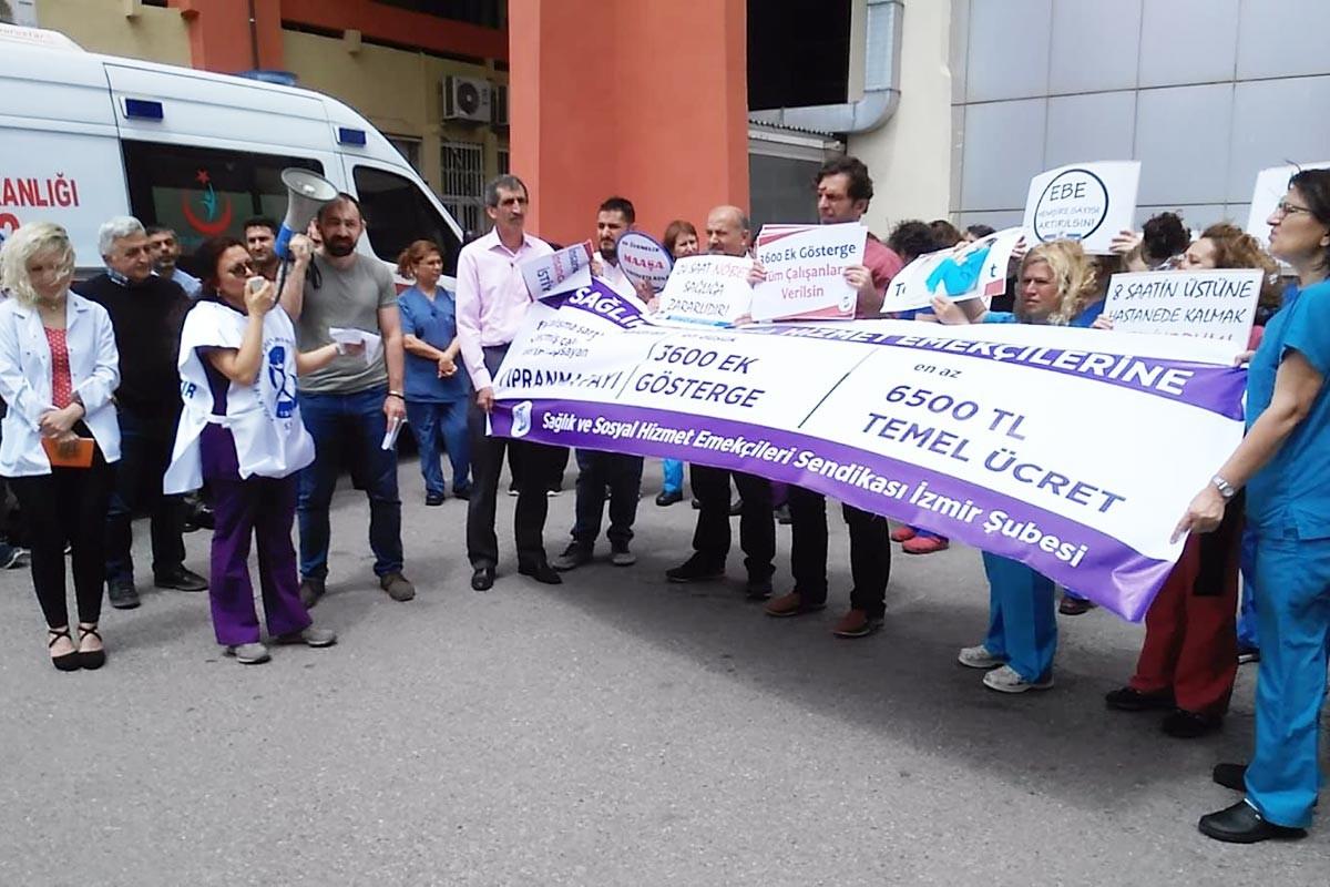 Hemşirelik Haftası | SES İzmir Şubesi: Taleplerimiz rafa kaldırılamaz