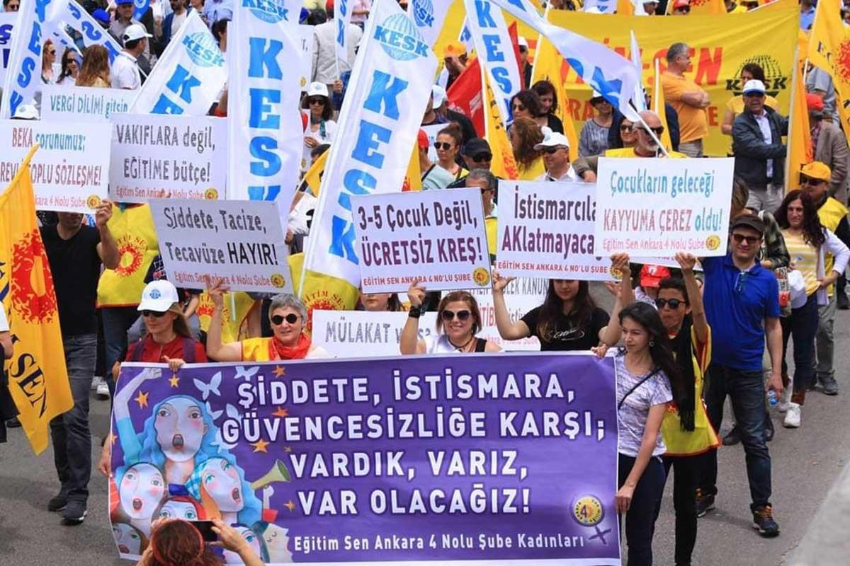 Ankara 1 Mayıs'ının ardından: Bu kürsü işçileri birleştirebilir mi?