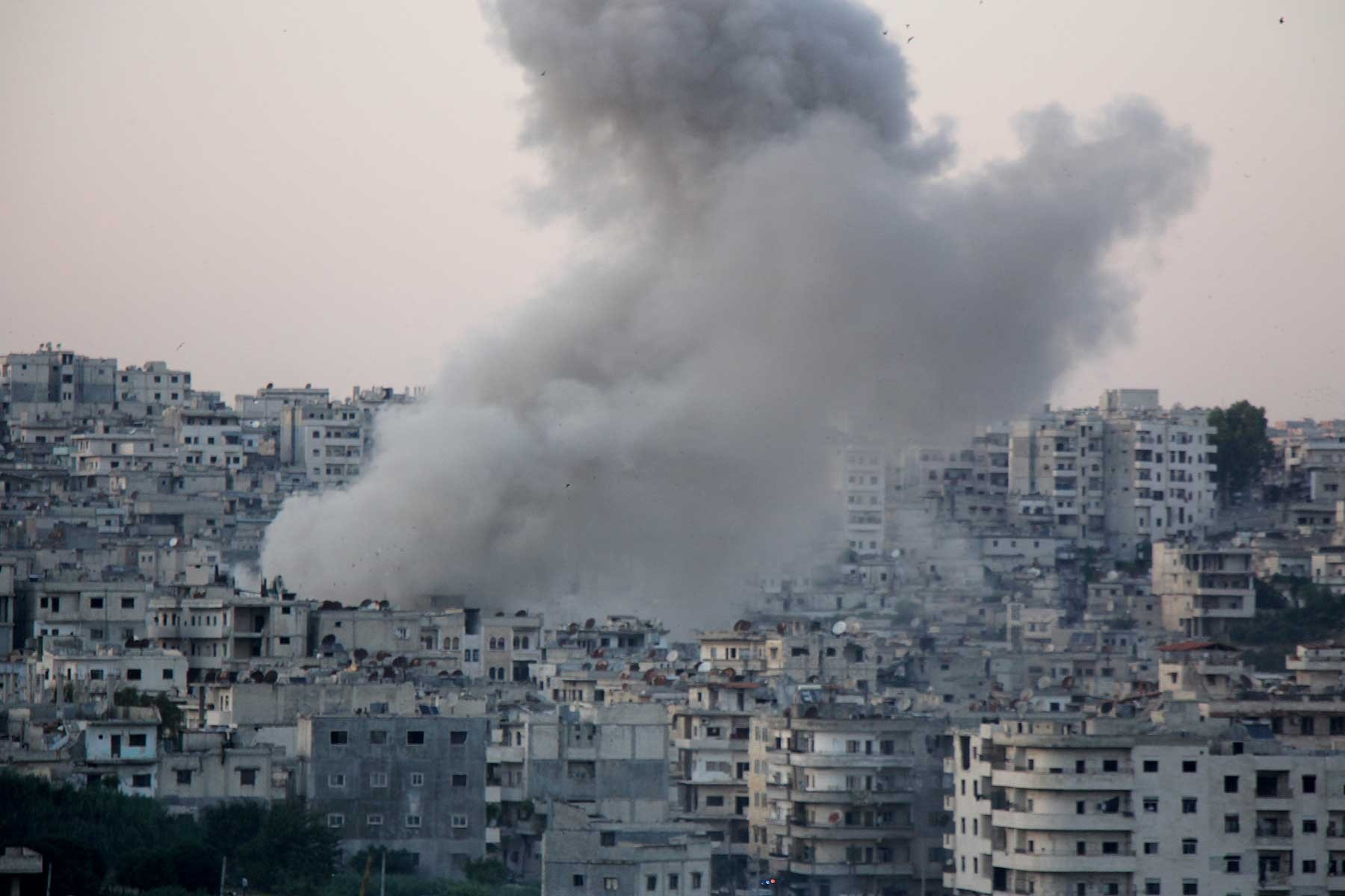 Idlib boiling up on our doorstep