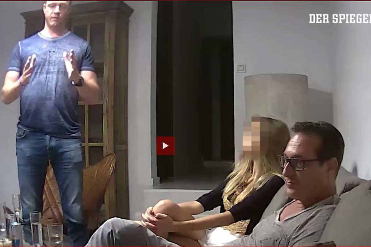 Strache'nin gizli görüşmesi